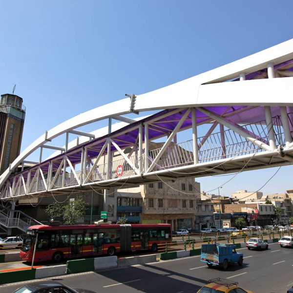 پل خیابان دماوند