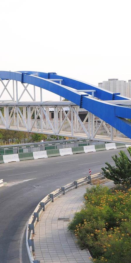 The bridges over Hakim Highway and Dehkadeh Olympic Blvd