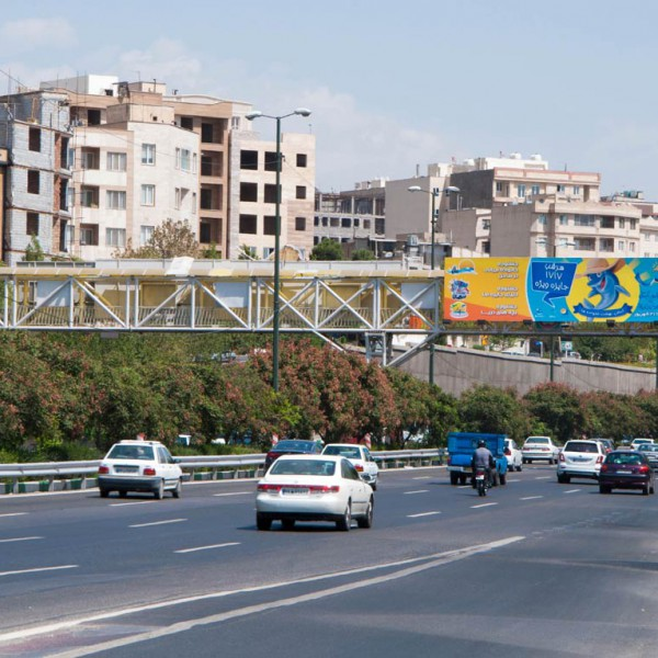 Pedestrian Bridge of Zeinodin Highway Rayhani Street